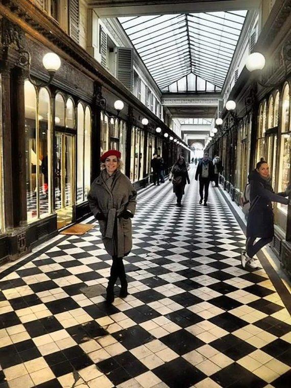 Asmeninio albumo nuotr./Liucinos Rimgailės ir Tado Rimgailos viešnagė Paryžiuje