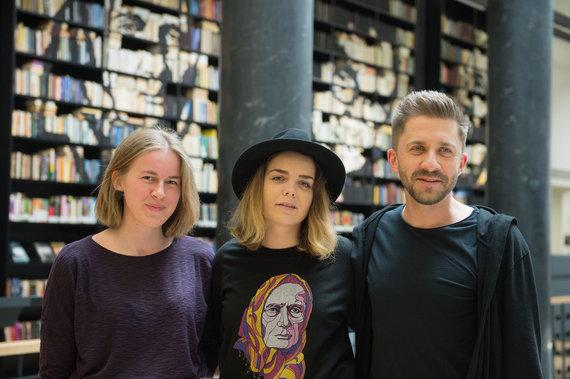 Alfredo Pliadžio nuotr. /Jolita Vaitkutė ir Silvestras Dikčius (dešinėje)