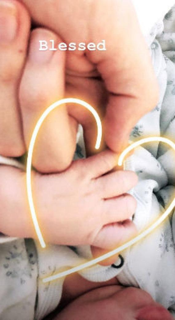 """""""Instagram"""" nuotr./Candice Swanepoel susilaukė antro sūnaus"""