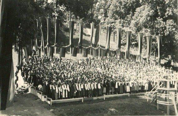 epaveldas.lt nuotr./1924 m. Dainų šventė