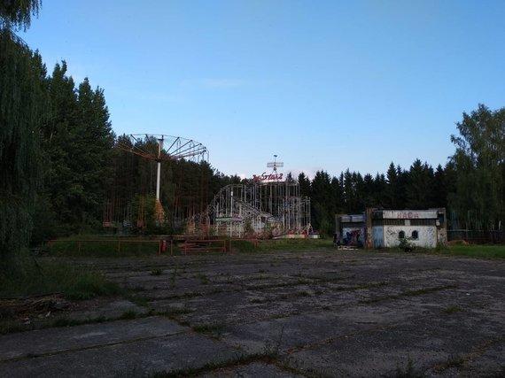 Ugniaus Antanavičiaus nuotr./Elektrėnų atrakcionų parkas
