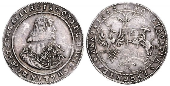 Praeitiespaslaptys.lt nuotr. /1644 m. Kuršo taleris