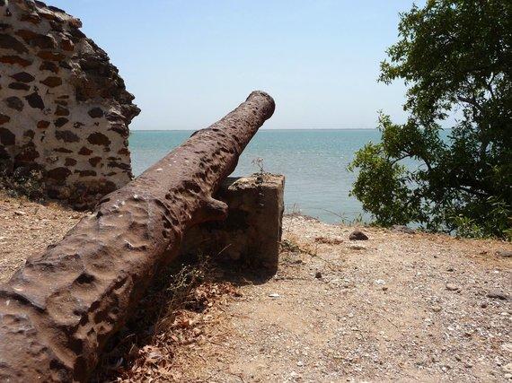 Wikipedia Commons nuotr./Jokūbo forto likučiai Gambijoje