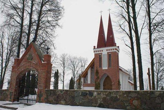 Biržų turizmo informacijos centro nuotr./Naujoji Suosto bažnyčia