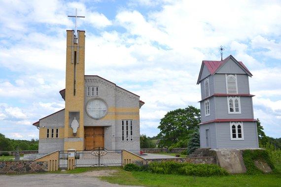 Wikipedia Commons nuotr./Naujoji Pakalnių bažnyčia