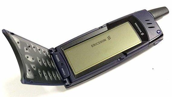 "Amazon.com nuotr./""Ericcson R380"" telefonas"