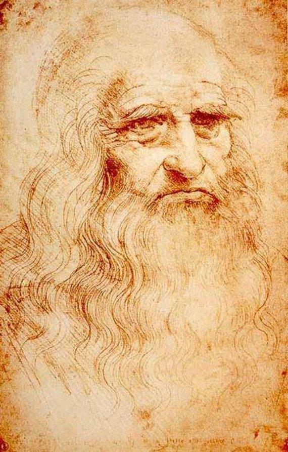 Wikipedia Commons pav./Piešinys, laikomas Leonardi da Vinci autoportretu