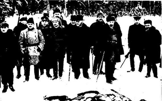 """epaveldas.lt nuotr. /Prezidentinė medžioklės akimirka žurnale """"Karys"""". 1939 02 02"""