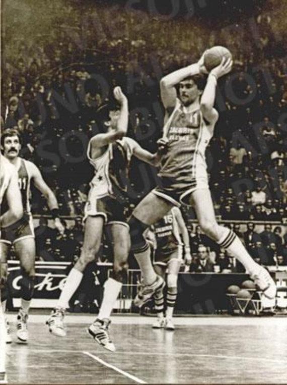 Lietuvos sporto muziejaus fondų nuotr./1987 m. SSRS krepšinio čempionatas