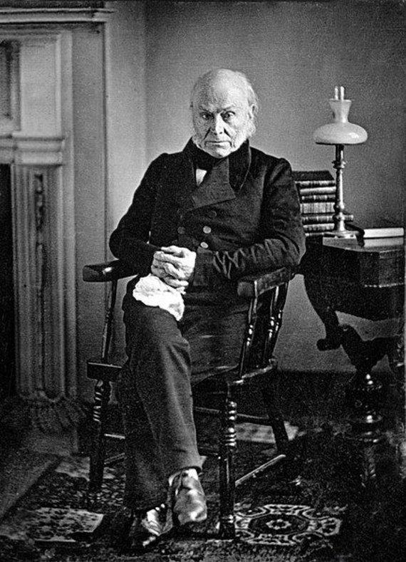 Whitehouse.gov nuotr./Prezidentas Johnas Quincy Adamsas Baltuosiuose rūmuose laikė aligatorių