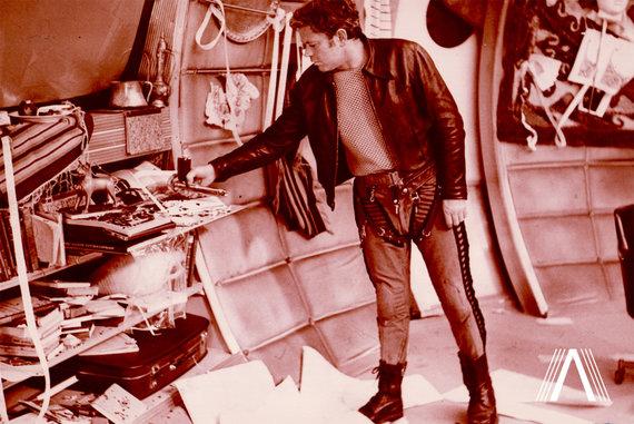 "archivesofculture.com nuotr./Donatas Banionis. Kriso Kelvino vaidmuo filme ""Soliaris"". 1971 m."