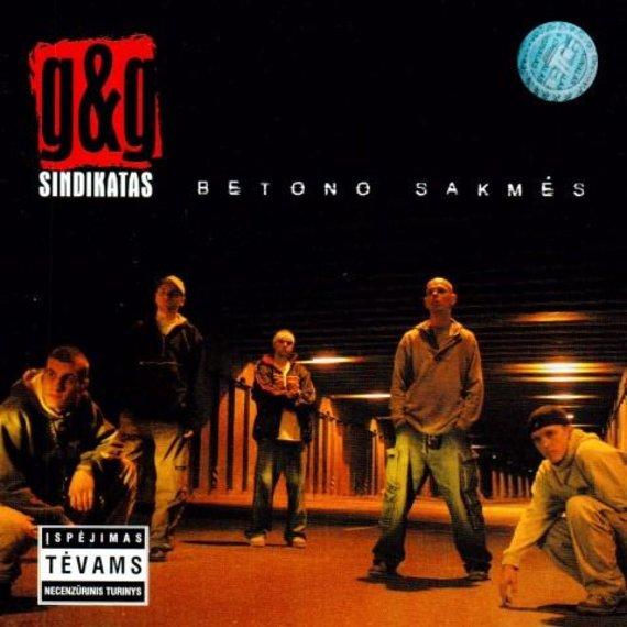 """Nuotrauka iš oficialaus """"G&G Sindikato"""" puslapio/""""G&G Sindikato"""" albumo """"Betono sakmės"""" viršelis"""