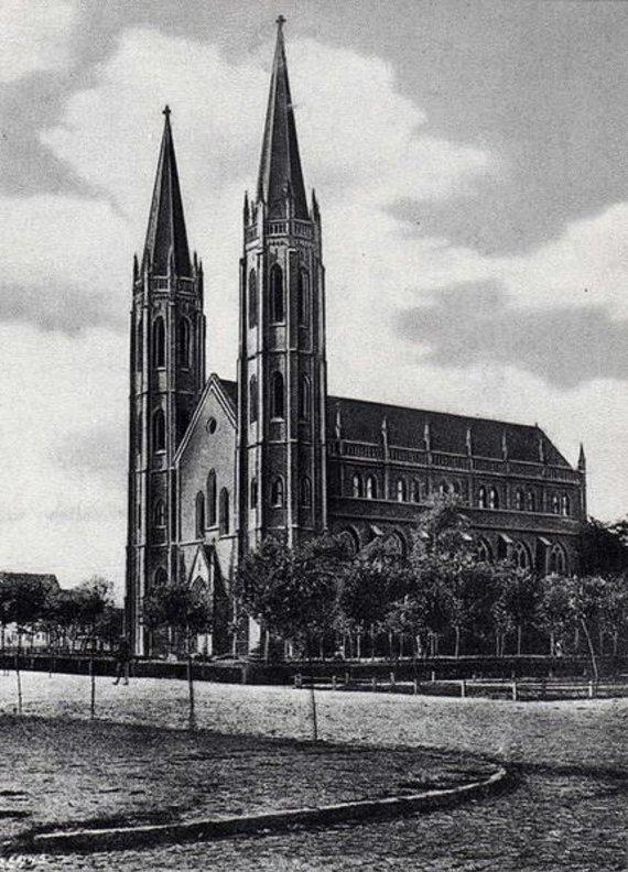 Wikimedia Commons nuotr./Širvintos bažnyčia 1925 m.