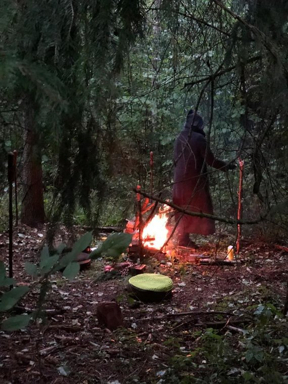 Wiccans of Lithuania Facebook puslapio nuotr./Wicca apeigos