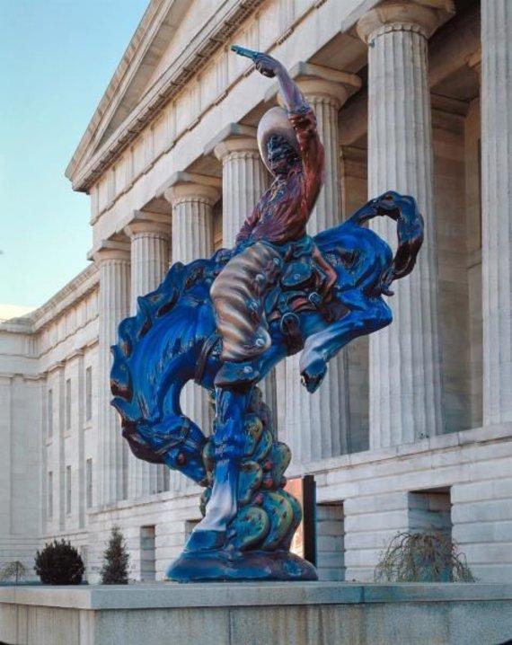 Smithsonian meno muziejaus nuotr./Luiso Jimenezo skulptūra