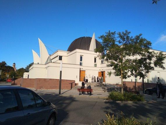 Ugniaus Antanavičiaus nuotr./Strasbūro mečetė