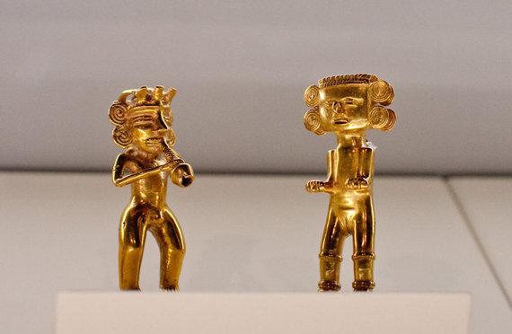 bnbcostarica.com nuotr./Ikikolumbiniai Kosta Rikos indėnų aukso dirbiniai