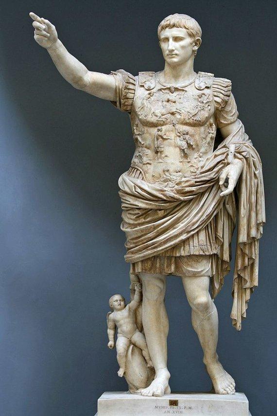 Wikimedia Commons nuotr./Imperatorius Augustas