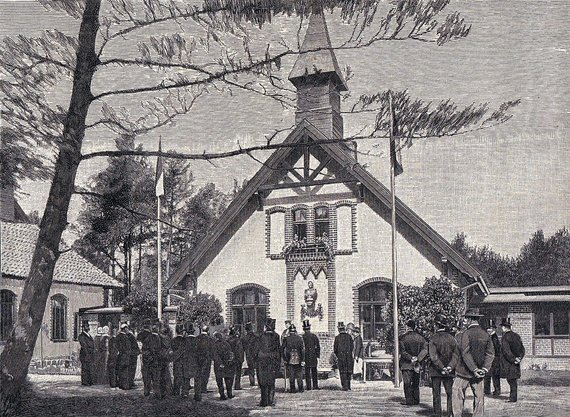 Wikimedia Commons / Public Domain nuotr./Leprozoriumo atidarymo iškilmės