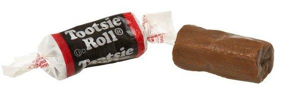 "Wikimedia Commons nuotr./""Tootsie Roll"" saldainis"