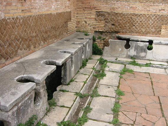 Wikimedia Commons nuotr./Romėnų tualetai