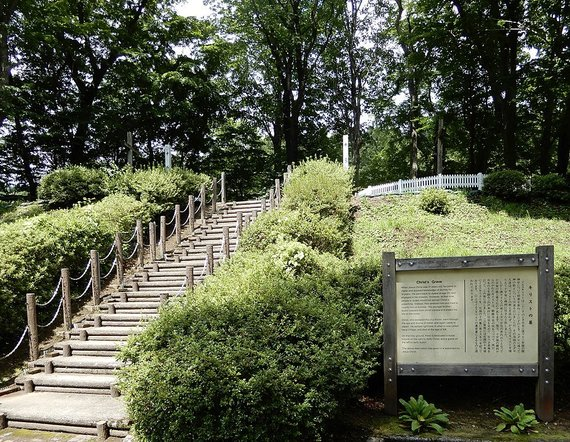 Wikimedia Commons / Public Domain nuotr./Laiptai, vedantys link Jėzaus kapo