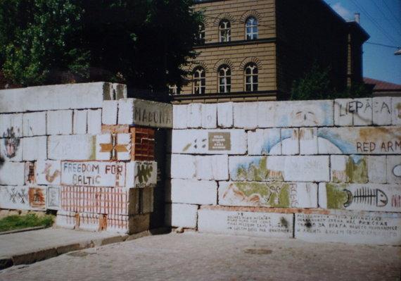 Wikimedia Commons nuotr./Barikados Rygoje 1991 m.