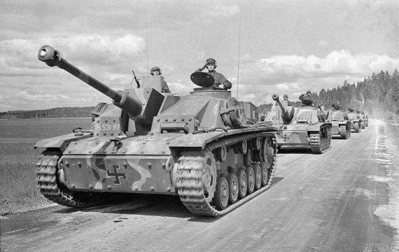 Wikimedia Commons / Public Domain nuotr./Suomių tankai per Tolesnį karą
