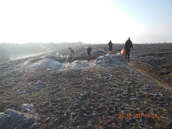 V.Baranovo nuotr. /Ukrainos archeologai aptiko senovės baltų kapinyną