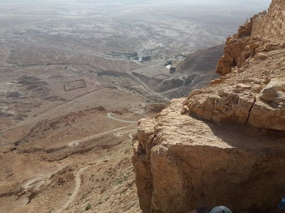 Ugniaus Antanavičiaus nuotr./Vaizdas nuo Masados tvirtovės