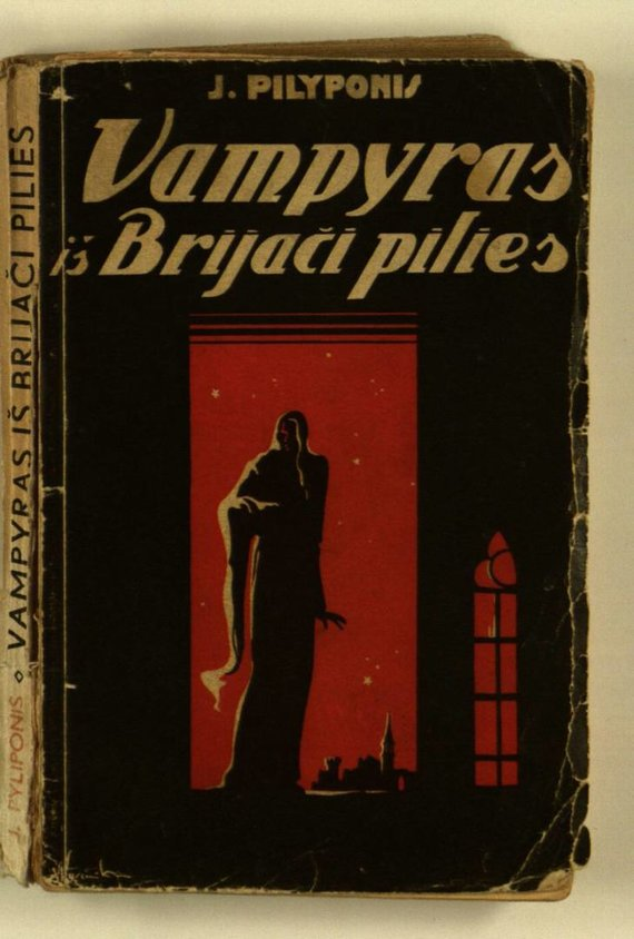 """epaveldas.lt nuotr./Knygos """"Vampyras iš Brijači pilies"""" viršelis"""