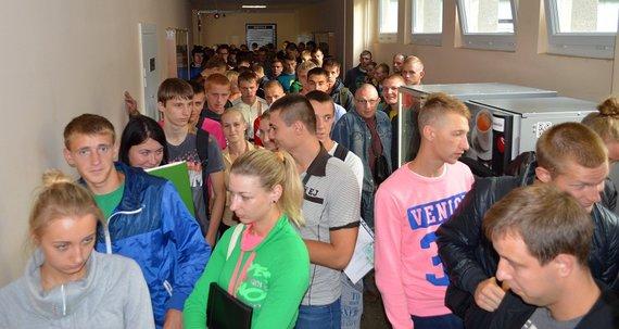 Norinčių studijuoti Lietuvos policijos mokykloje netrūko