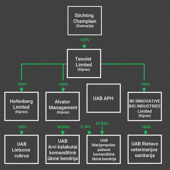 Įmonių schema