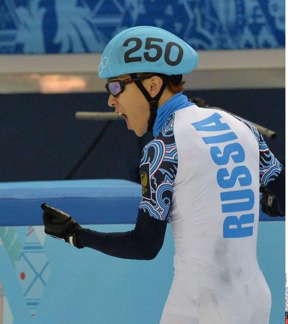 """""""Scanpix"""" nuotr./Triskart Sočio žiemos žaidynių čempionas Victoras Anas"""
