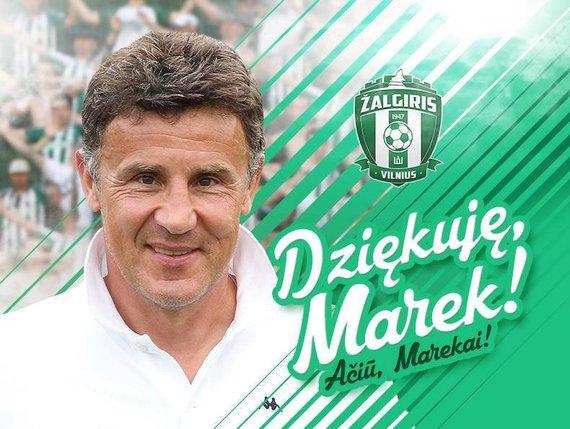 """Vilniaus """"Žalgirio"""" nuotr./Marekas Zubas"""