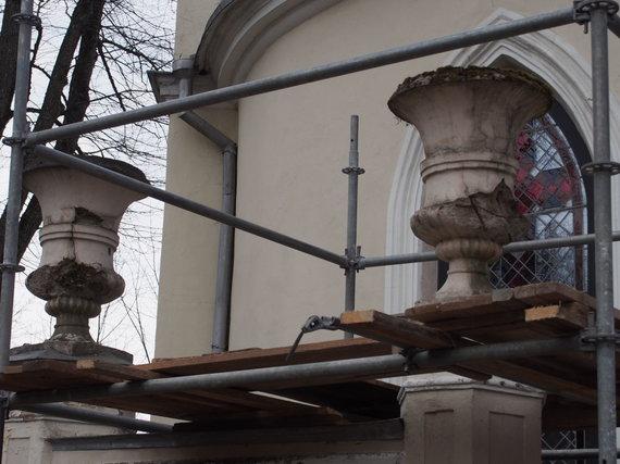 J.Chludok nuotr./Tiškevičių koplyčia prieš restauraciją
