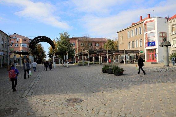 Planuojama rekonstruti pėsčiųjų bulvara Vilniaus g.