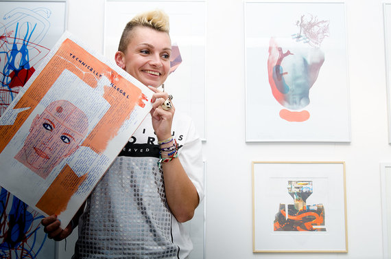 Sėkmingas jaunųjų lietuvių dizainerių ir iliustratorių debiutas Londono dizaino festivalyje. S. Vaikaso ir E. Simonavičiūtės nuotr.