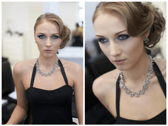 """Olesia Žuravliova makeup&image school"" nuotr./Dūminis makiažas"