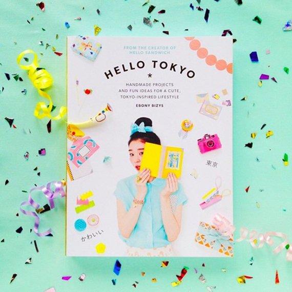 "Asmeninio albumo nuotr./Ebony Bizys knyga ""Hello Tokyo"""