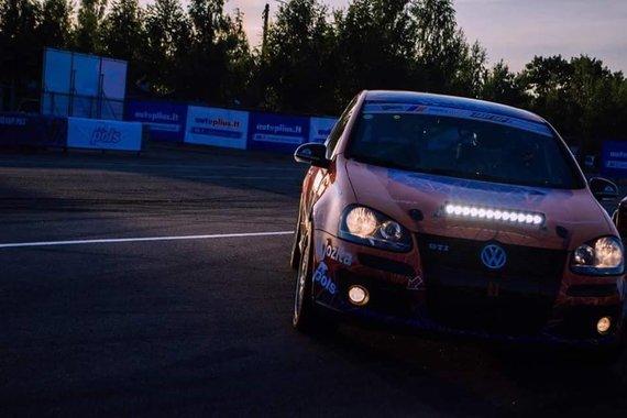 KTK Racing division nuotr./Naktinės lenktynės