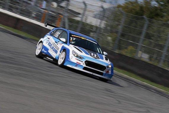 "Baltic Touring Car Championship / Rawcar.com Photography nuotr./""Hegelmann Transporte by Algirdai Racing Team"""