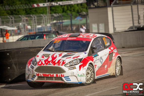 Rallycross.lv/Kalvis Zalaiskalns nuotr./Varžybų akimirka