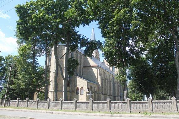 Tomo Markelevičiaus nuotr./Atstatyta Naujamiesčio bažnyčia