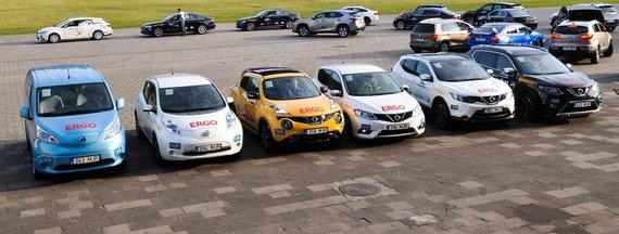 """Organizatorių nuotr./""""Nissan"""" metų automobilio rinkimuose"""