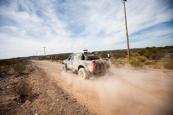 Elijaus Kniežausko nuotr./Antrasis Dakaro greičio ruožas