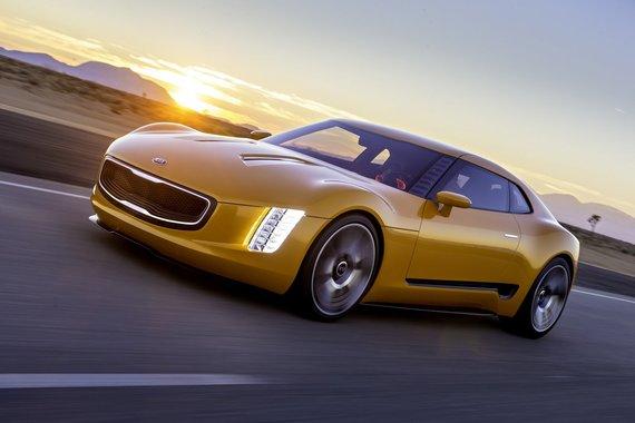 """KIA nuotr./""""Kia GT4 Stinger"""""""