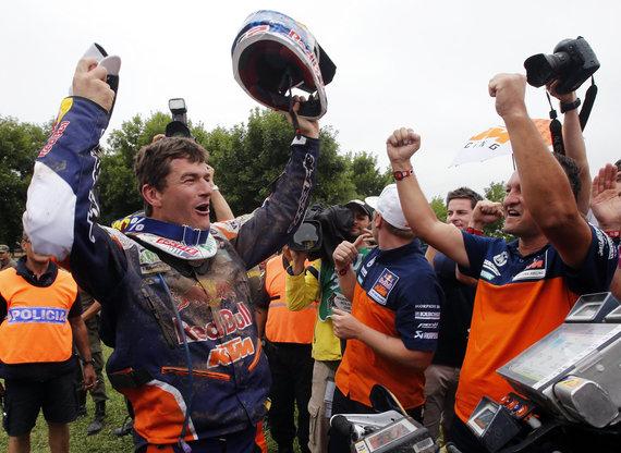 """AFP/""""Scanpix"""" nuotr./Dakaro nugalėtojas Marcas Coma"""