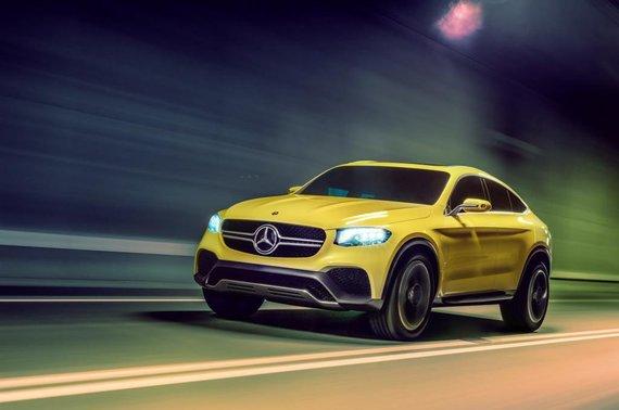 """Mercedes-Benz"" nuotr./""Mercedes-Benz GLC Coupe"""