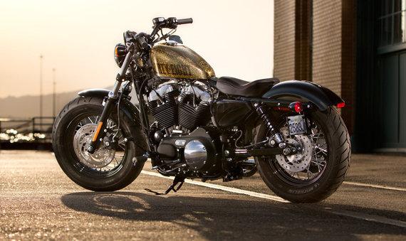 harley-davidson.com nuotr./Harley Davidson Fourty Eight